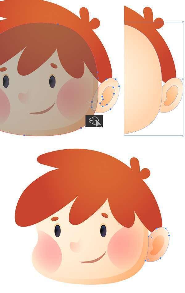 Tutorial Membuat Ikon Anak Kecil di Adobe Illustrator CC 13