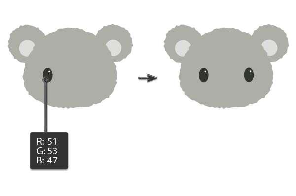 Tutorial Membuat Ilustrasi Koala di Adobe Illustrator CC 06
