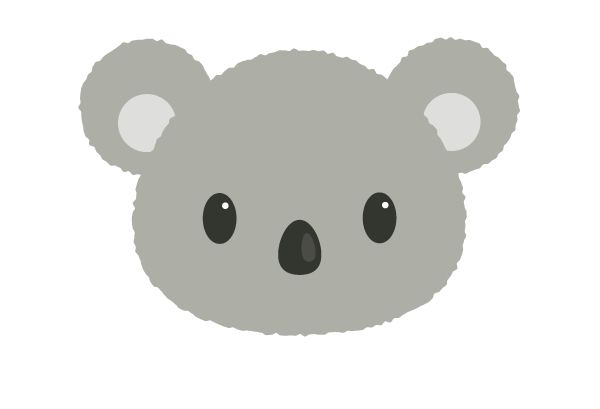 Tutorial Membuat Ilustrasi Koala di Adobe Illustrator CC 08