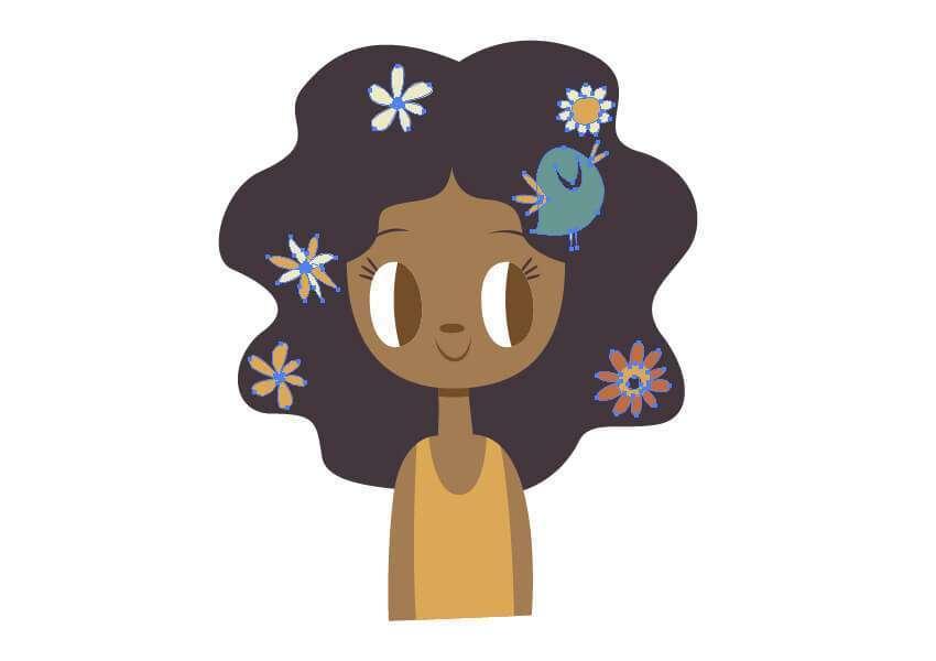 Tutorial Membuat Ilustrasi Musim Semi di Adobe Illustrator CC 22
