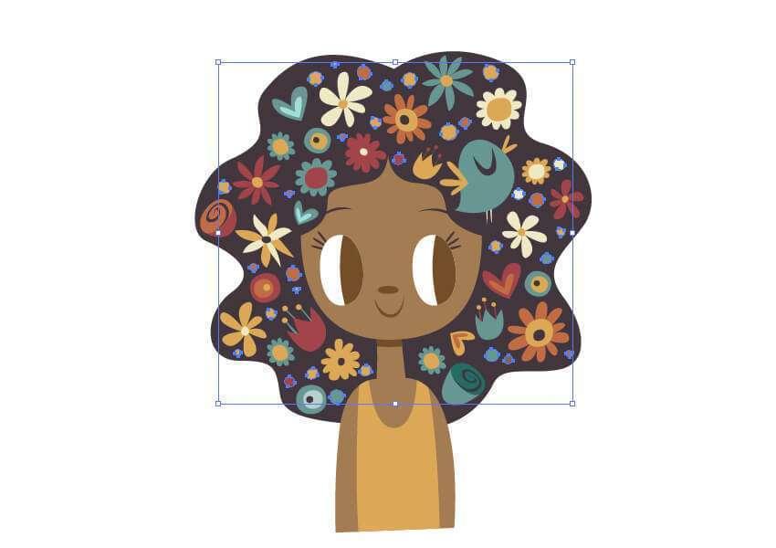Tutorial Membuat Ilustrasi Musim Semi di Adobe Illustrator CC 25