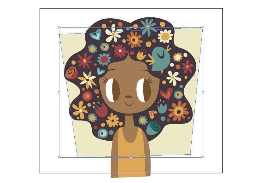 Tutorial Membuat Ilustrasi Musim Semi di Adobe Illustrator CC 26