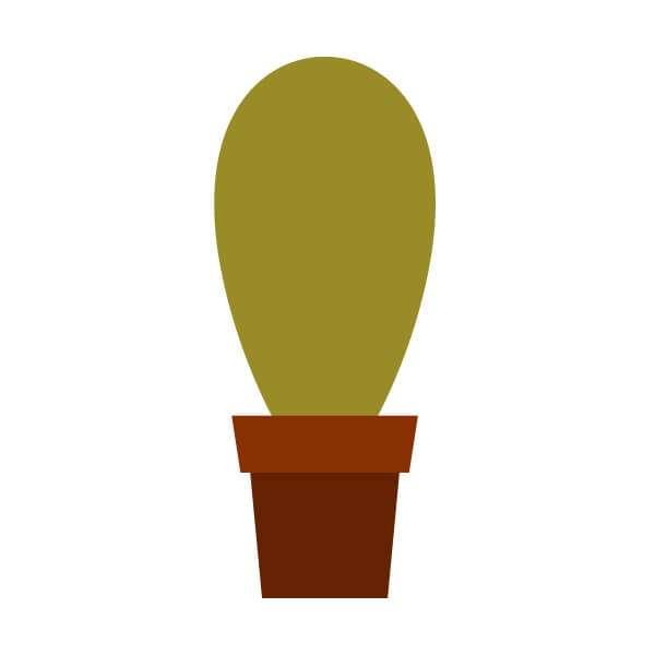 Tutorial Membuat Karakter Kaktus Lucu di Adobe Illustrator CC 13