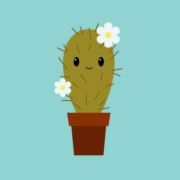 Tutorial Membuat Karakter Kaktus Lucu di Adobe Illustrator CC 30
