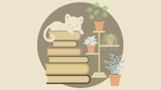 Tutorial-Membuat-Karakter-Kucing-dan-Tumpukan-Buku-di-Adobe-Illustrator-CC