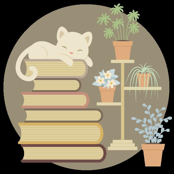Tutorial Membuat Karakter Kucing dan Tumpukan Buku di Adobe Illustrator CC