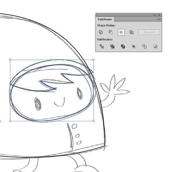Tutorial Membuat Karakter Secara Cepat dan Unik di Adobe Illustrator CC 06