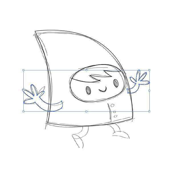 Tutorial Membuat Karakter Secara Cepat dan Unik di Adobe Illustrator CC 10