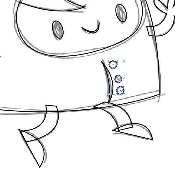 Tutorial Membuat Karakter Secara Cepat dan Unik di Adobe Illustrator CC 12