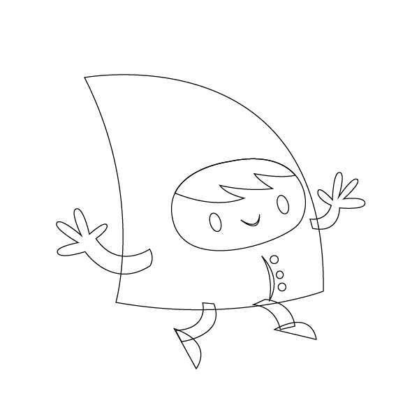 Tutorial Membuat Karakter Secara Cepat dan Unik di Adobe Illustrator CC 13