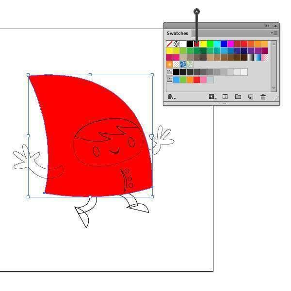 Tutorial Membuat Karakter Secara Cepat dan Unik di Adobe Illustrator CC 14