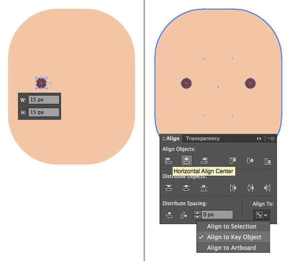 Tutorial Flat Design Karakter Hipster di Adobe Illustrator CC 02