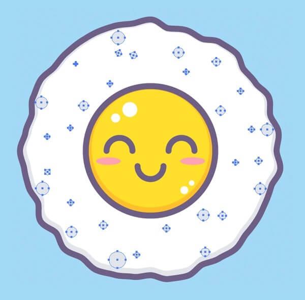 Tutorial Membuat Vektor Telur di Adobe Illustrator CC 06