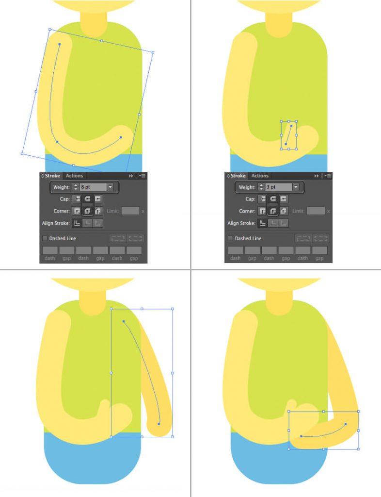 Tutorial Membuat Interior Flat Desain Flat di Adobe Illustrator CC 12