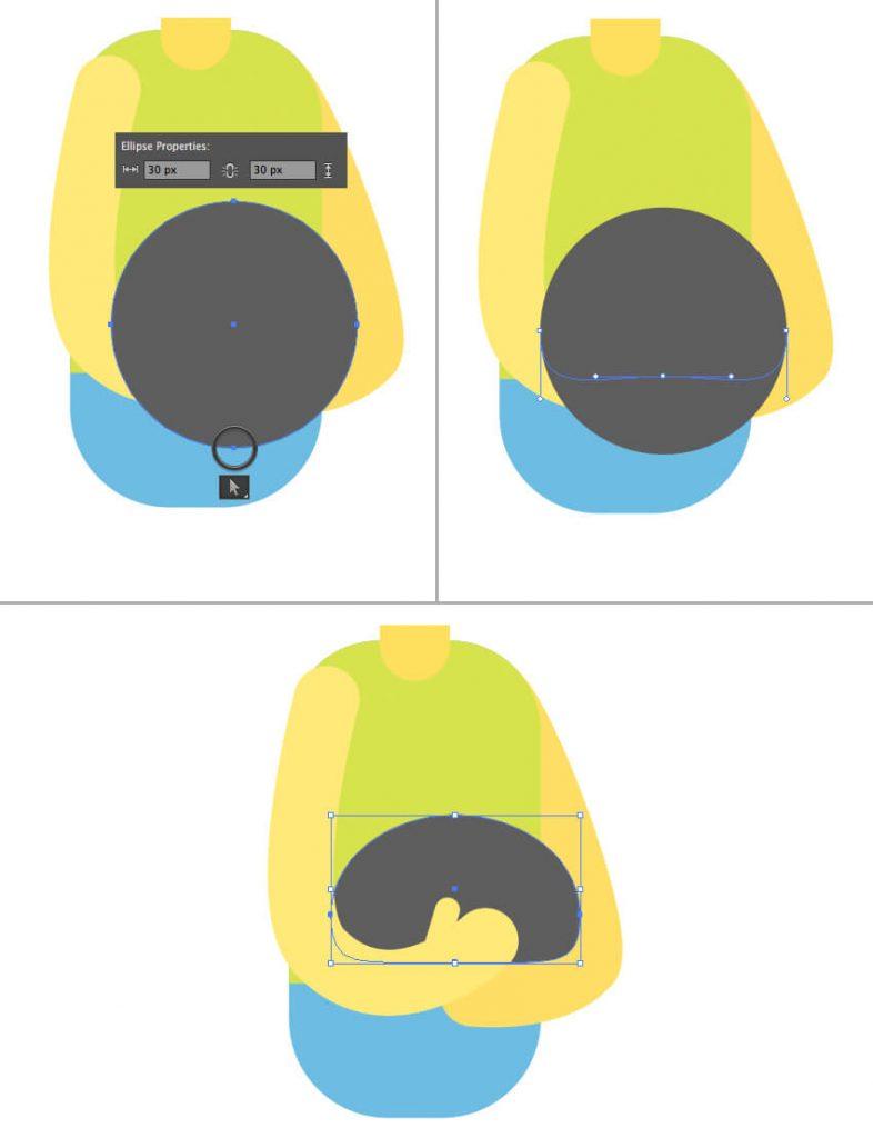 Tutorial Membuat Interior Flat Desain Flat di Adobe Illustrator CC 13
