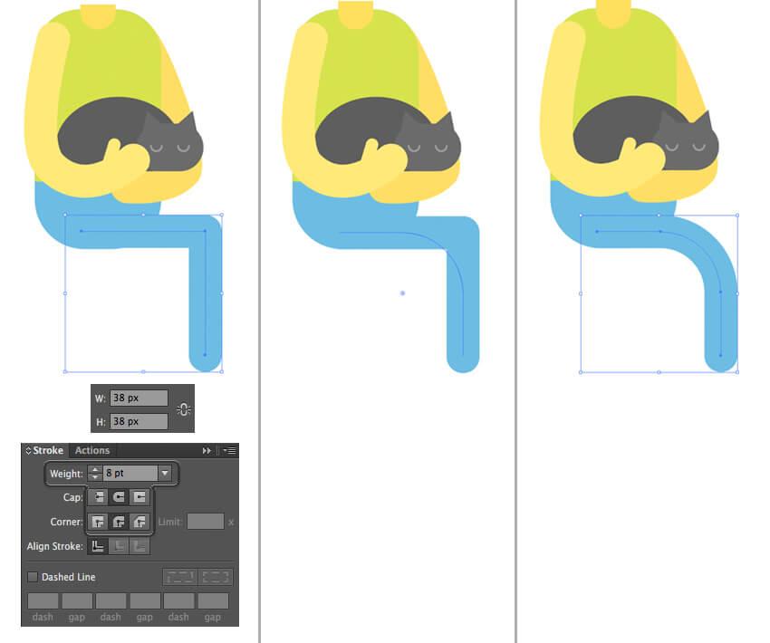 Tutorial Membuat Interior Flat Desain Flat di Adobe Illustrator CC 15