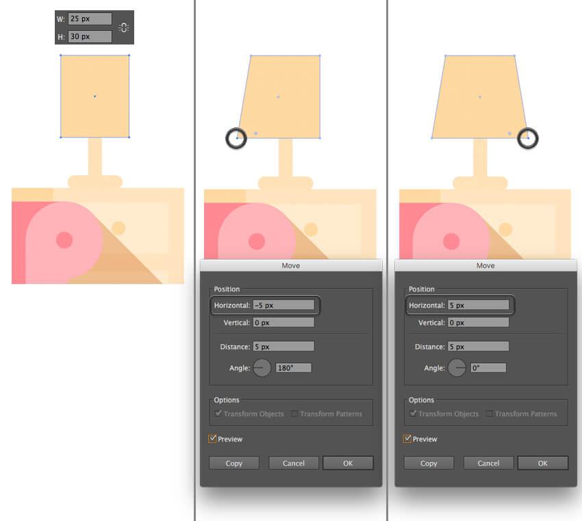 Tutorial Membuat Interior Flat Desain Flat di Adobe Illustrator CC 24
