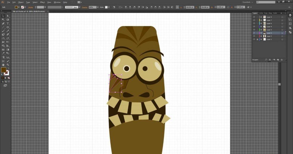 tutorial-desain-karakter-tiki-art-menarik-di-adobe-illustrator-cc 27