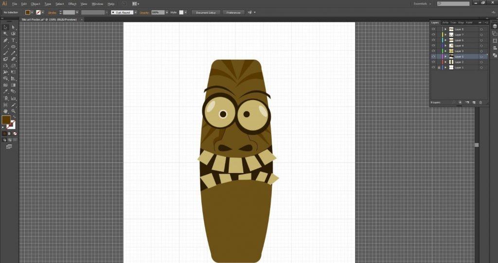 tutorial-desain-karakter-tiki-art-menarik-di-adobe-illustrator-cc 28