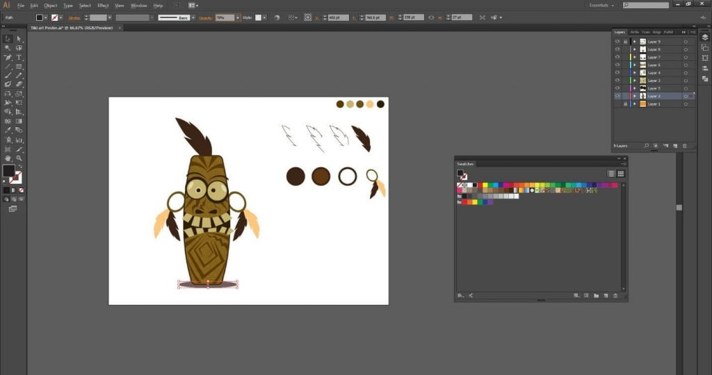 tutorial-desain-karakter-tiki-art-menarik-di-adobe-illustrator-cc 36