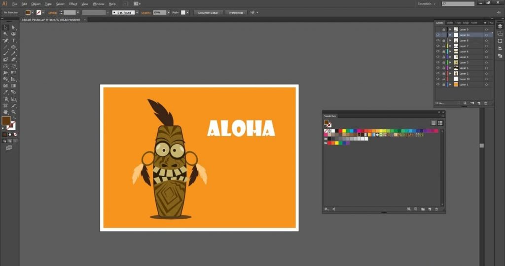 tutorial-desain-karakter-tiki-art-menarik-di-adobe-illustrator-cc 39