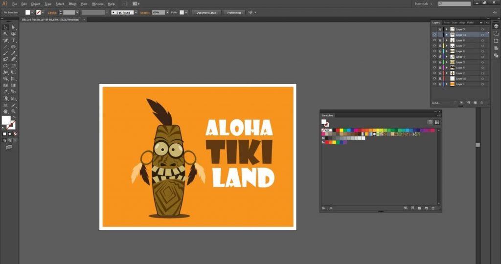 tutorial-desain-karakter-tiki-art-menarik-di-adobe-illustrator-cc 41