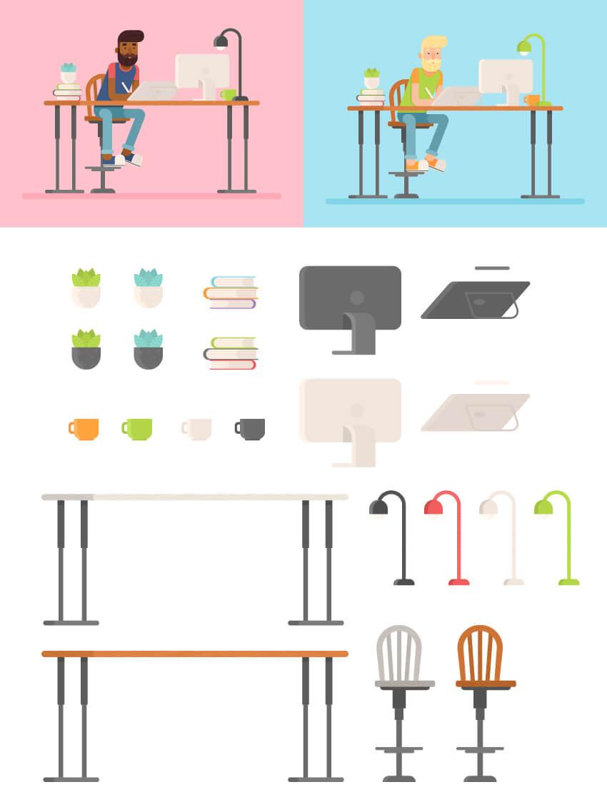tutorial-membuat-karakter-flat-design-di-adobe-illustrator-cc 01