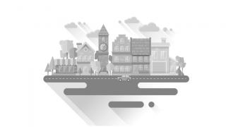 Tutorial-Cityscape-Flat-Design-Grayscale-di-Adobe-Illustrator-CC
