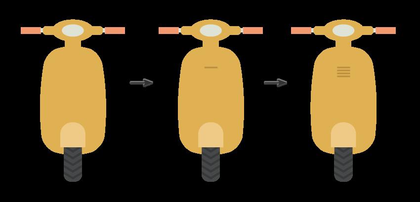 tutorial-flat-design-anak-kampus-membawa-scooter-di-adobe-illustrator 05