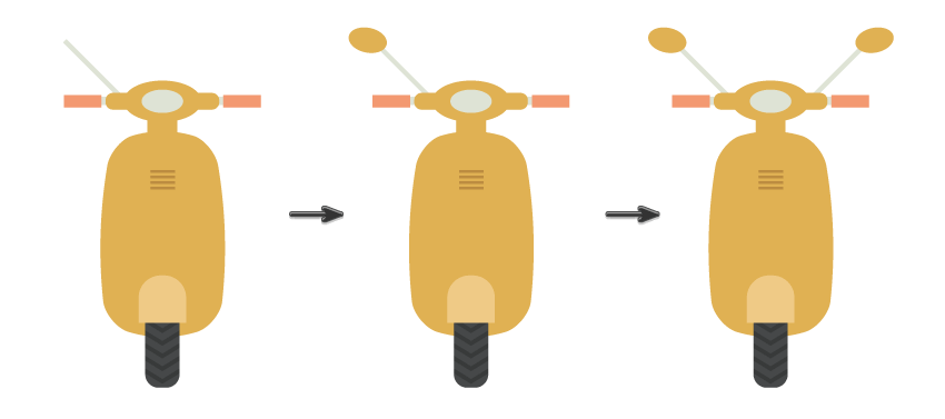 tutorial-flat-design-anak-kampus-membawa-scooter-di-adobe-illustrator 06